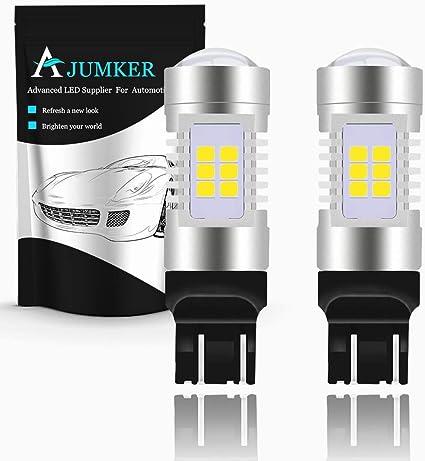 AJUMKER 7443 7440 992 T20 Bombilla LED, Xenón blanco ...