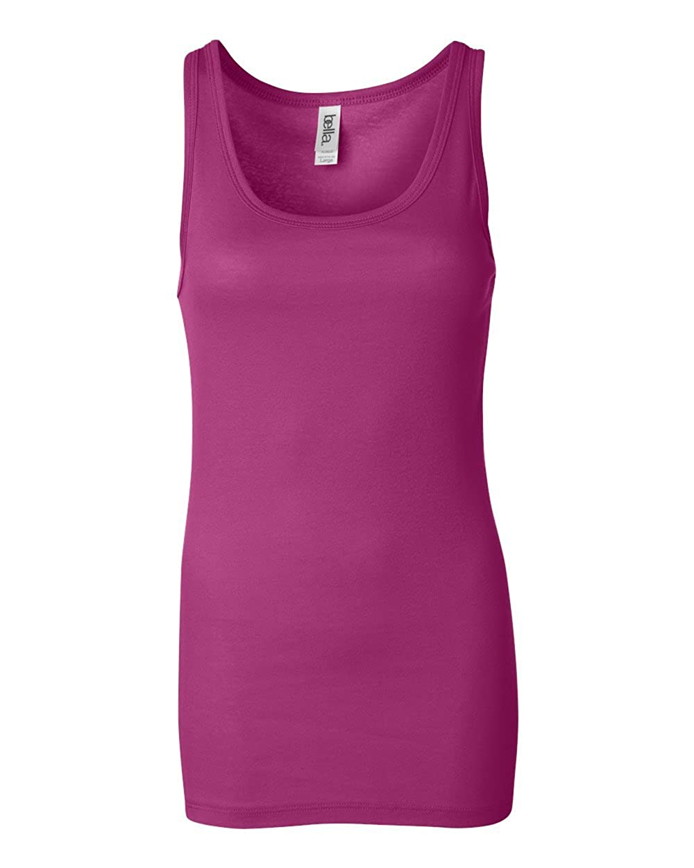 Bella + Canvas Ladies' Sheer Mini Rib Tank 8780