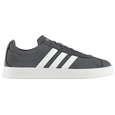 ba1f93ebc3fd10 adidas Women s Vl Court 2.0 Skateboarding Shoes  Amazon.co.uk  Shoes ...