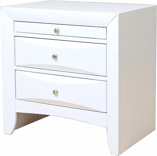 ACME Ireland Nightstand – 21704 – White