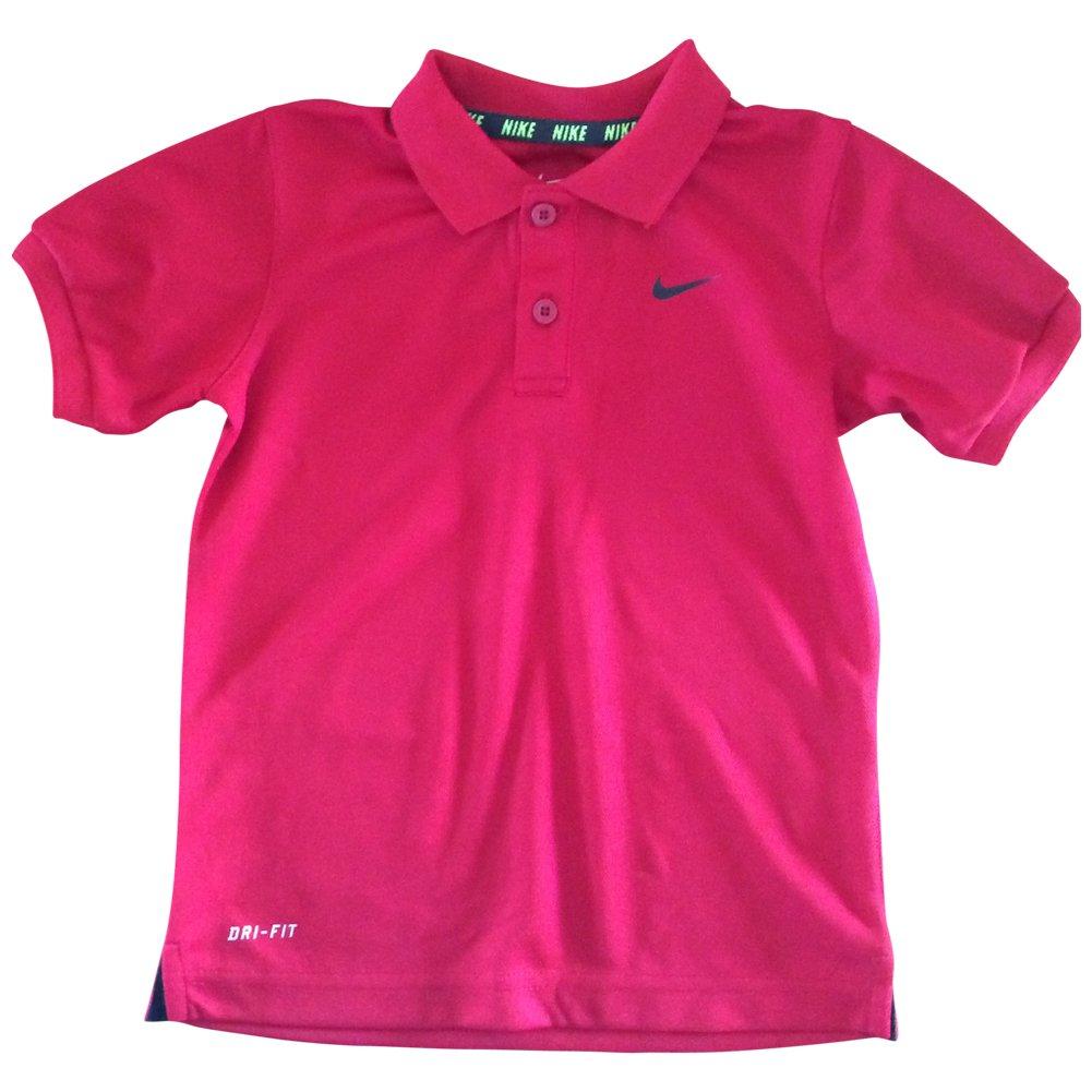 Amazon Nike Toddler Little Boys Dri Fit Polo Shirt Gym Red 4