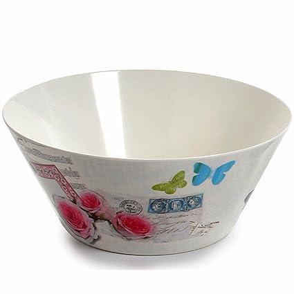 LOSTRYY Bandeja de plástico, plato de fruta Fruta seca atmosférica atmósfera simple ollas grandes ollas