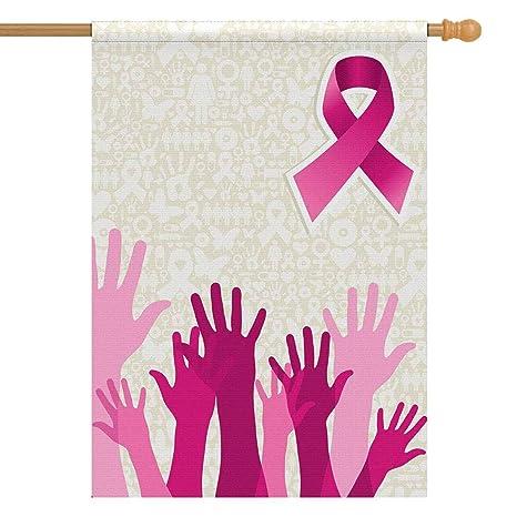 Amazon Com Interestprint Breast Cancer Awareness Hand