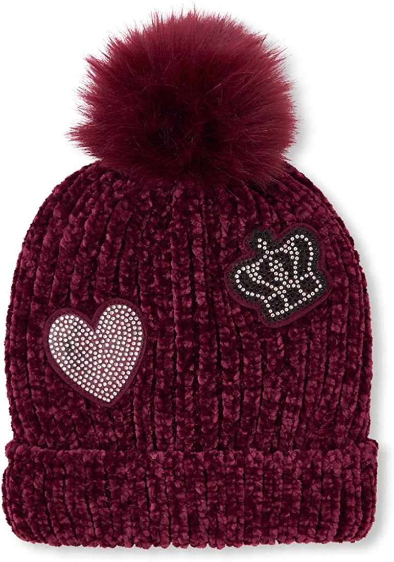 The Childrens Place Big Girls Patchwork Beanie