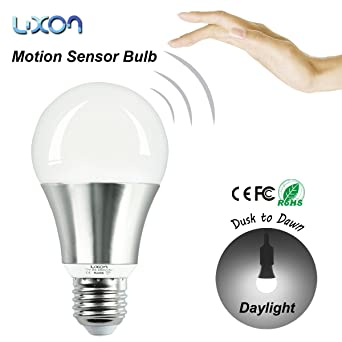 Motion sensor light bulbs security led lights 7w dusk to dawn motion sensor light bulbs security led lights 7w dusk to dawn photocell e27 screw for garage aloadofball