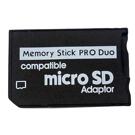 Adaptador de tarjetas de memoria Micro SD adaptador de Memory ...