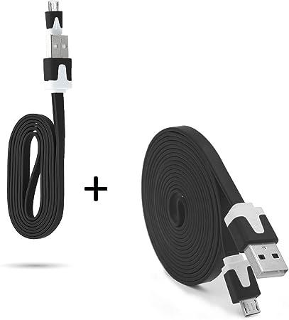 Pack Cargador para Mando Xbox One Smartphone Micro USB Cable ...