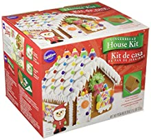 Wilton 2104-1915 Fully Assembled Gingerbread House Kit, Petite