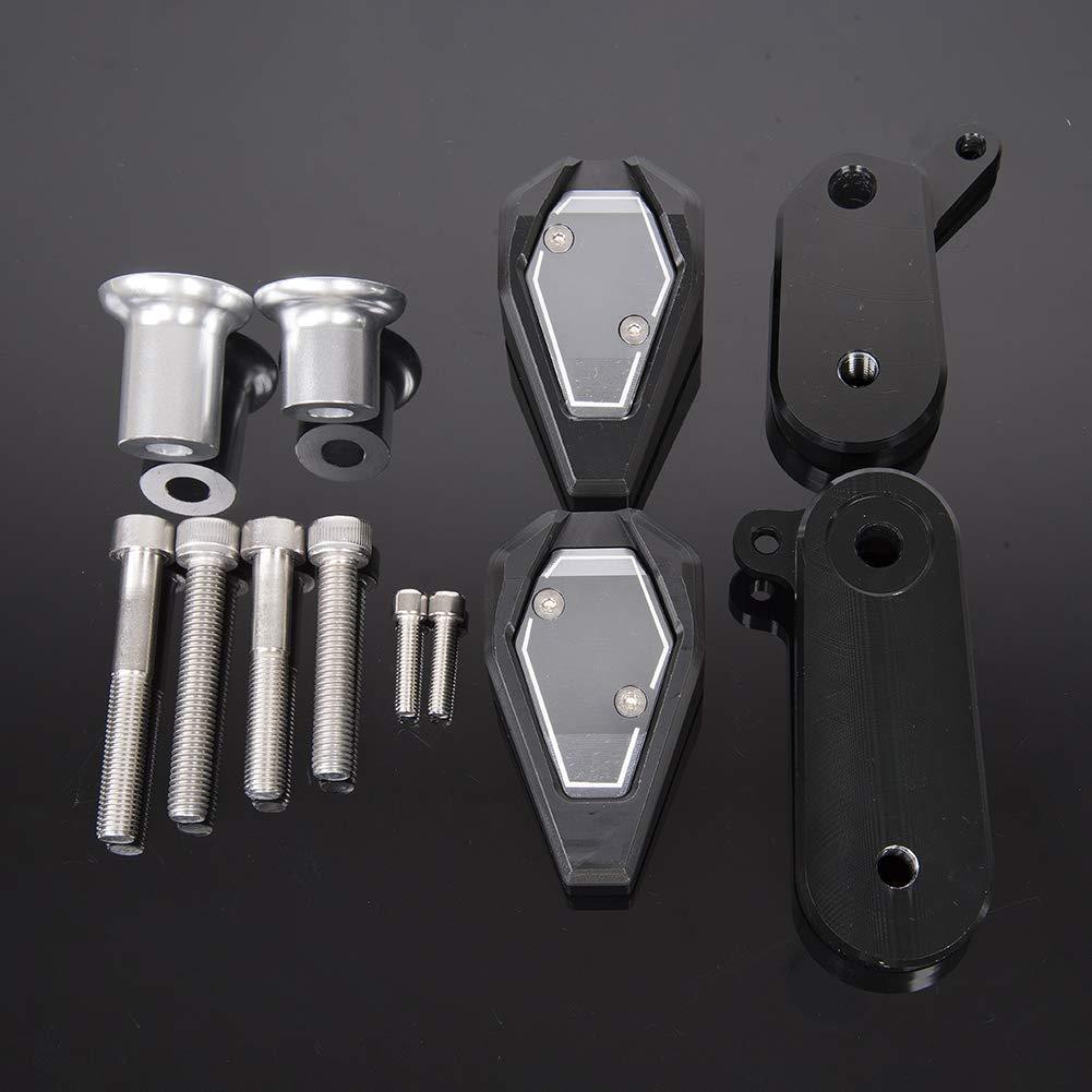 LoraBaber Protection de protection antid/érapante pour ch/âssis de motocyclette pour Kawasaki Ninja ZX6R ZX 6R 2009-2012 Cache moteur 2010 2011 vert