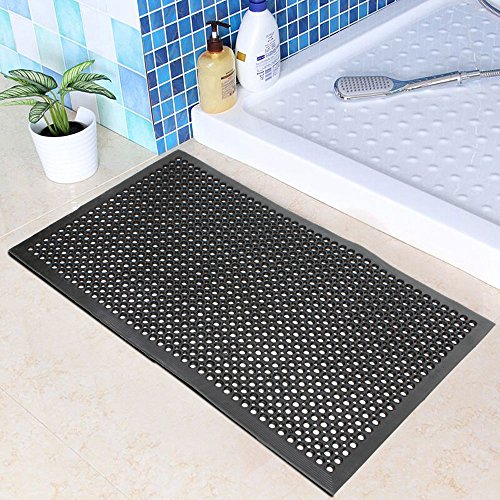 Anti-Fatigue Rubber Floor Mats For Kitchen Bar, NEW Indoor