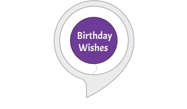 Amazon Birthday Wishes Alexa Skills