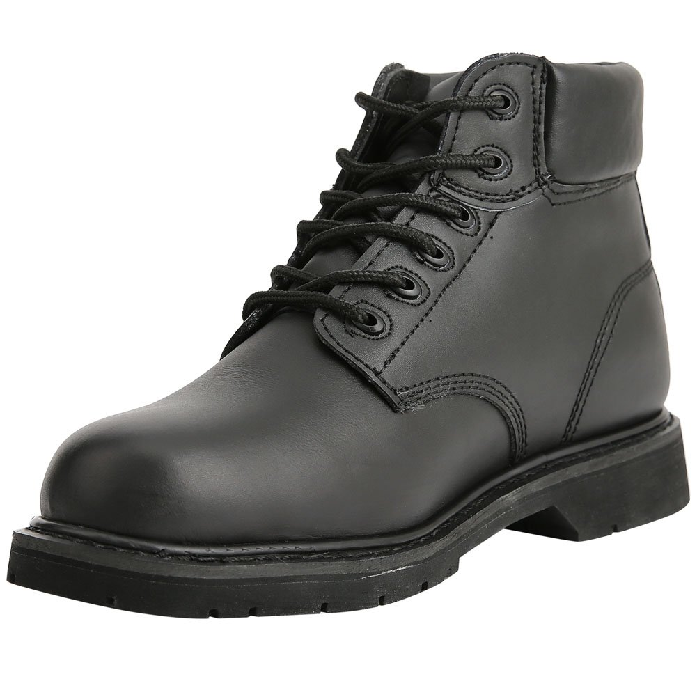 Bull Run Boots Mens Work Boot Safety Work Shoes Premium Leather