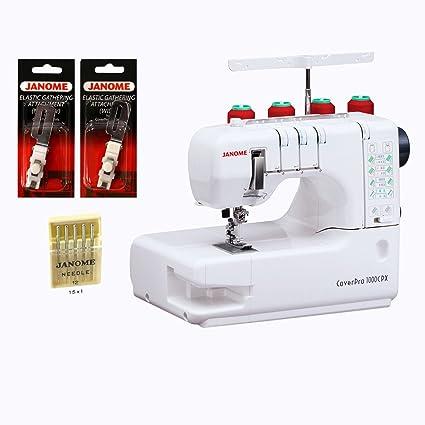 Amazon.com: Janome Cover Pro 1000CPX Cover Stitch Machine with 3 ...