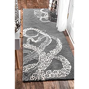 61MNdiMRvxL._SS300_ 50+ Octopus Rugs and Octopus Area Rugs For 2020