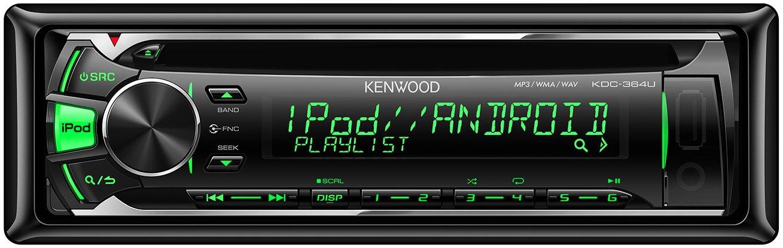 Kenwood KDC-364U Radio coche con CD-Tuner, AUX y USB: Amazon.es: Electrónica
