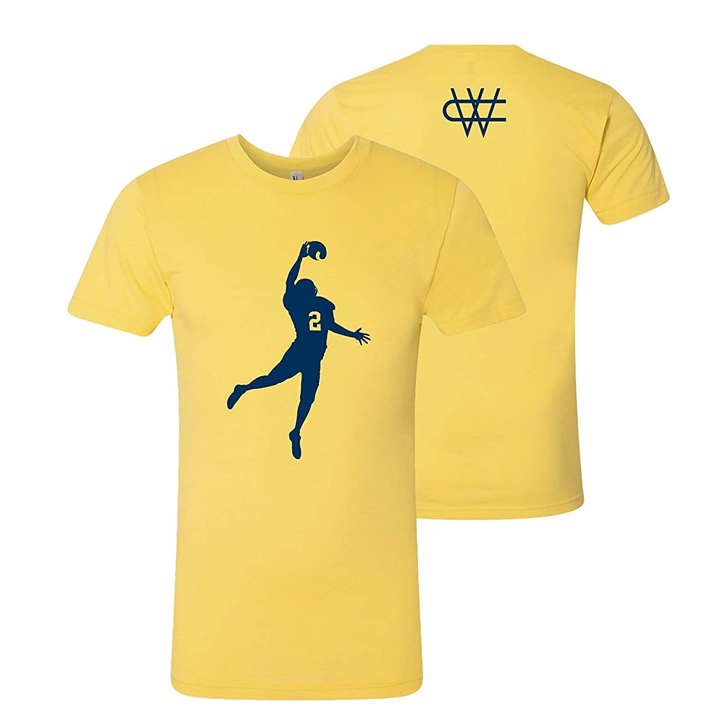 92c5c228 Amazon.com: Charles Woodson The Pick - Michigan Football American Apparel  50/50 T Shirt: Clothing
