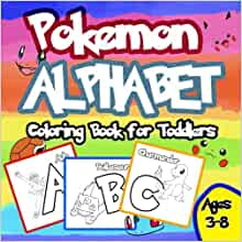 Pokemon Alphabet Coloring Book Unofficial product image