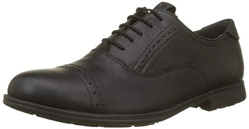 Camper 1913, Zapatos de cordones Oxford para Mujer, Negro (Black 001), 35 EU: Amazon.es: Zapatos y complementos