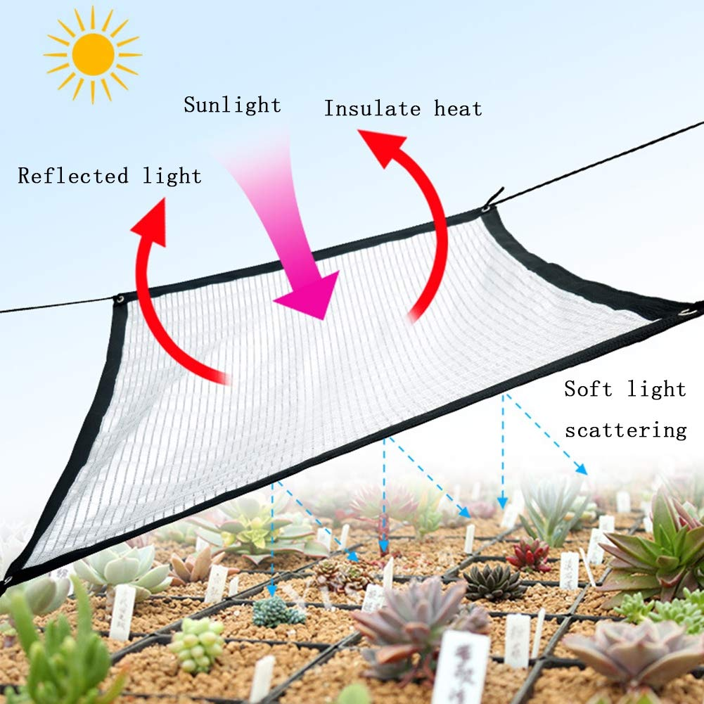 Plante Verte et argent/ée Multi-Taille en Option,2x4M=6x13FT GTRAS Toile dabat-Jour Sunblock Serre hydratante 75/% du taux dalourdissement du Papier daluminium