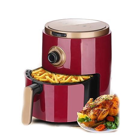 1200W Multifuncional Alta Capacidad Freidora, Casa Cocina Máquina de Papas Fritas Freidora eléctrica con Temporizador