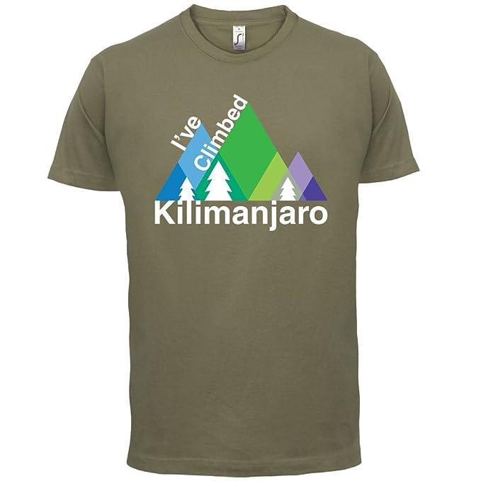 Amazon.com  Dressdown I ve Climbed Kilimanjaro - Mens T-Shirt - 13 Colours   Clothing 5101cb54358