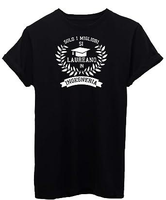 Regalo Laurea Ingegneria Informatica.Image T Shirt Laurea Ingegneria Universita Regalo Laureato