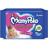 MamyPoko Soft Baby Wipes (50 Count)