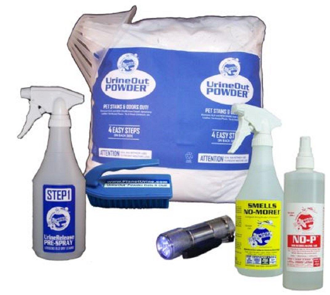 Ultimate II Pet Urine Odor Eliminator System w/ FREE Blacklight