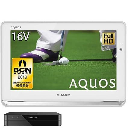 シャープ 16V型 液晶 テレビ AQUOS 2T-C16AP-W