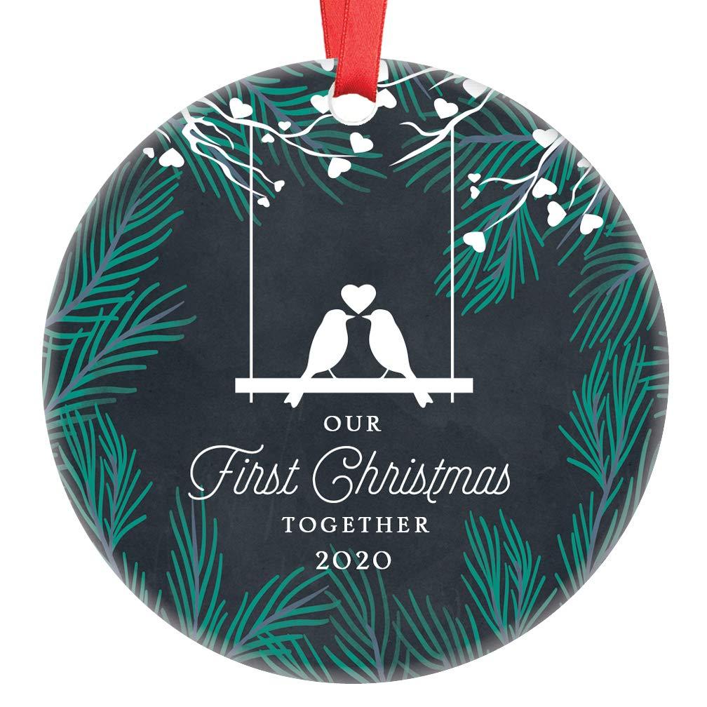 First Christmas Together Ornament 2020 Amazon.com: Our First Christmas Together 2020 Ornament Cute Love