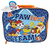 "Nickelodeon Paw Patrol Chase Rubble & Marshall A Paw-Fect Team! - Lunch Box, 10"" x 8"" x 4"""