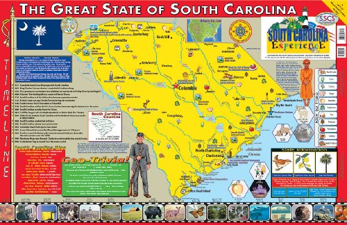 South carolina poster map ebook download online ido4nrio1 gumiabroncs Image collections