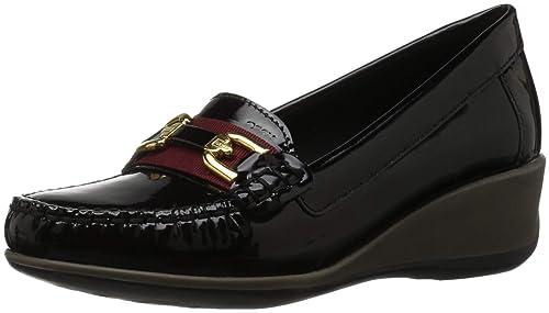 Geox D Arethea A, Mocasines para Mujer: Amazon.es: Zapatos y complementos