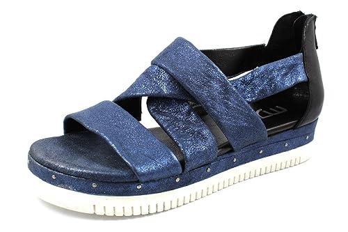 9440f4b0c97 Mjus Women s 752013-101-0002 Fashion Sandals Blue Size  7 UK  Amazon.co.uk   Shoes   Bags