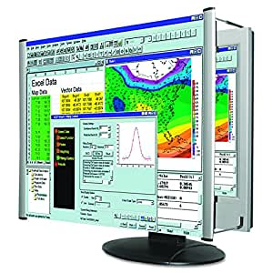 "Kantek LCD Monitor Magnifier Filter, Fits 19"" Monitors and Notebooks Measured Diagonally, Filter Measures 17 5/8"" W x 14"" H (MAG19L)"