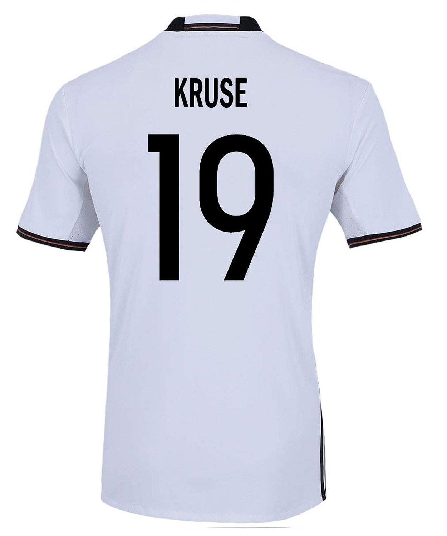 Adidas KRUSE #19 Germany Home Soccer Jersey Euro 2016 YOUTH/サッカーユニフォーム ドイツ ホーム用 クルーゼ 背番号19 Euro 2016 ジュニア向け B01B3BXGEG Y-Large, 輝く高品質な e458071e