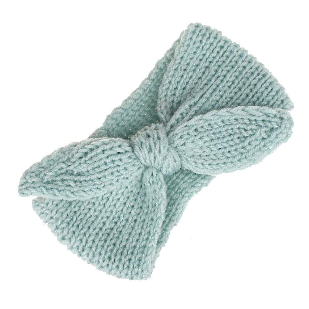Huhu833 Baby Stirnbänder Baby Infant Kinder Mädchen Häkeln