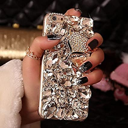 promo code 7150a e4fdd 2017 Fashion Luxury Lady Women 3D Bling Crystal Rhinestone Phone Case for  Samsung Galaxy Note 5 N9200 Diamond DIY Handmade Case Cover