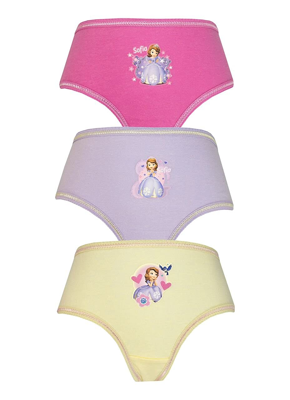 Cartoon Character Products Disney Sofia The 1st 3 Girls Pants/Knickers
