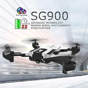 MCLseller WiFi FPV Drone, Quadcopter Plegable con cámara HD, GPS ...