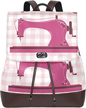 DEZIRO Mochila para máquina de Coser, Estilo Vintage, Color Rosa ...