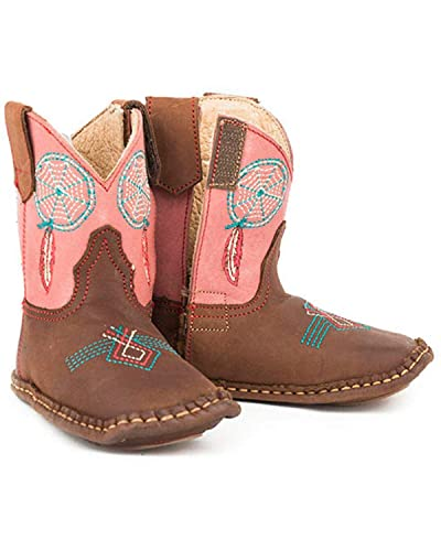 2c8c297df73 ROPER Infant-Boys  Dream Catcher Western Boot Brown ...
