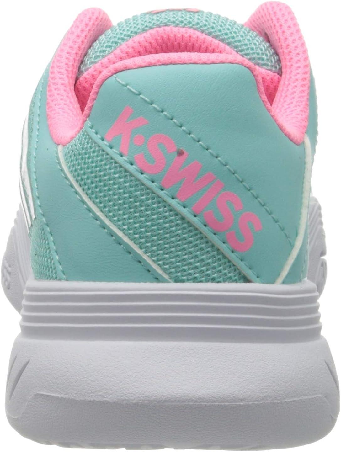 K-Swiss Performance Unisex-Kinder Ks Tfw Court Express Omni-Blue//Pink//White-m Tennisschuhe