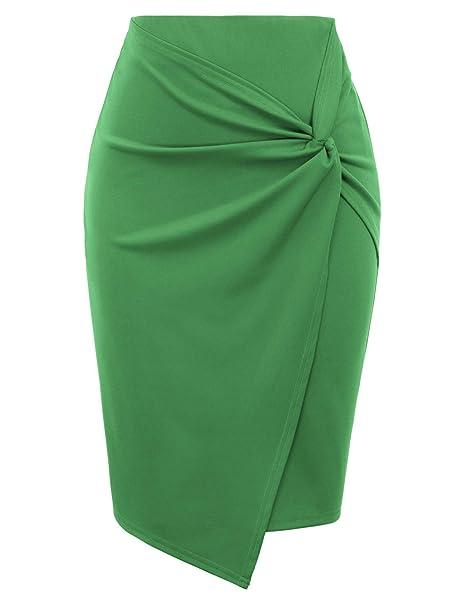 Kate Kasin - Falda para Mujer, diseño de Sirena Kk1162-3 XL ...