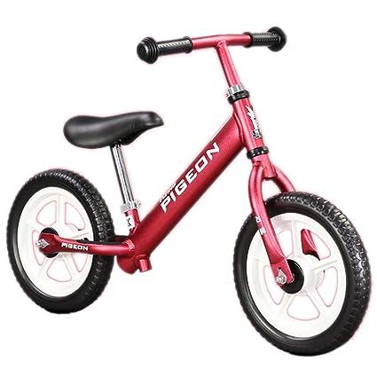 Niño balance coche no pedal deslizamiento coche bebé deslizamiento doble rueda bicicleta primer equilibrio entrenamiento bicicleta