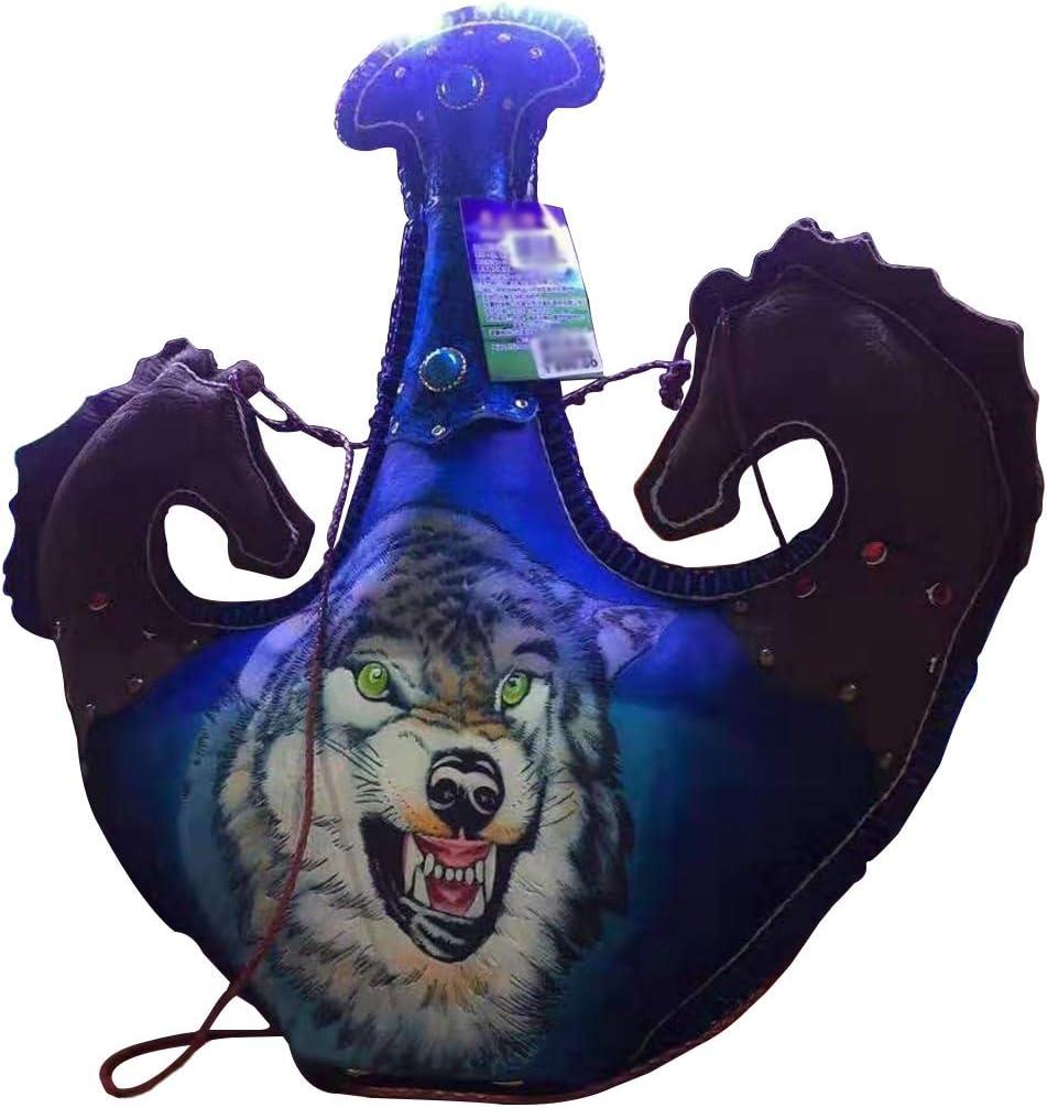 Compra Xu-flask Lobo Flat Flagon Pastizales Pastor de Vino ...