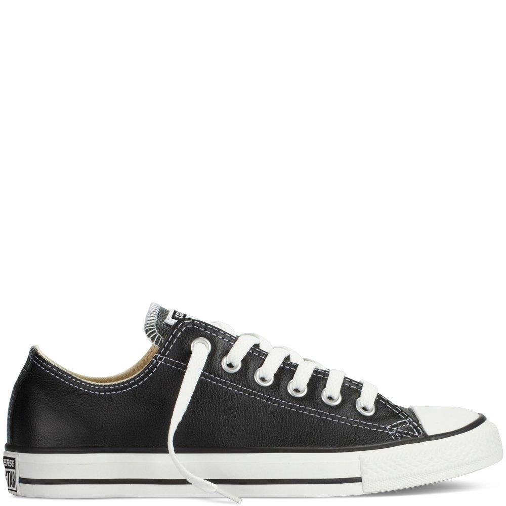 16fc47b21c Converse Chuck Taylor All Star Leather 132174C Negro: Amazon.es: Zapatos y  complementos