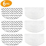 6 PCS Steam Mop Replacement Pads for Bissell Powerfresh Steam Mop Pads Compatible with 1940 1440 1544 Series 19402 19404…