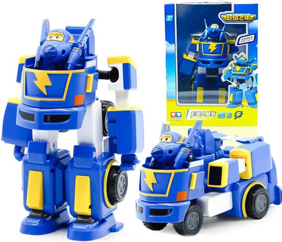 Baby Supplies HIL Super Wings Juguetes De Deformación Robot De Deformación Traje De Robot Ambulancia Coche De Policía Camión De Bomberos Vehículo De Utilidad Regalo De Cumpleaños