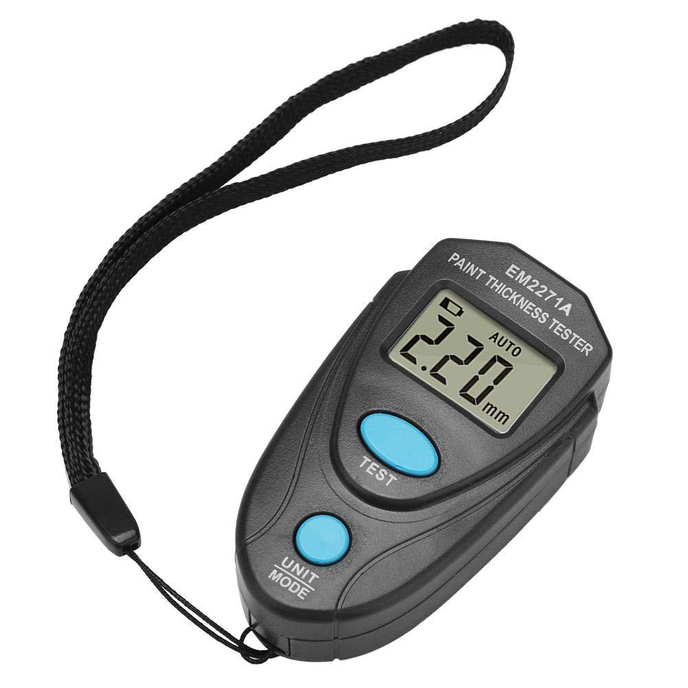 Coating Thickness Gauge, Digital Painting Thickness Meter, Digital LCD Coating Thickness Gauge, Car Paint Coating Thickness Gauge Meter Tester
